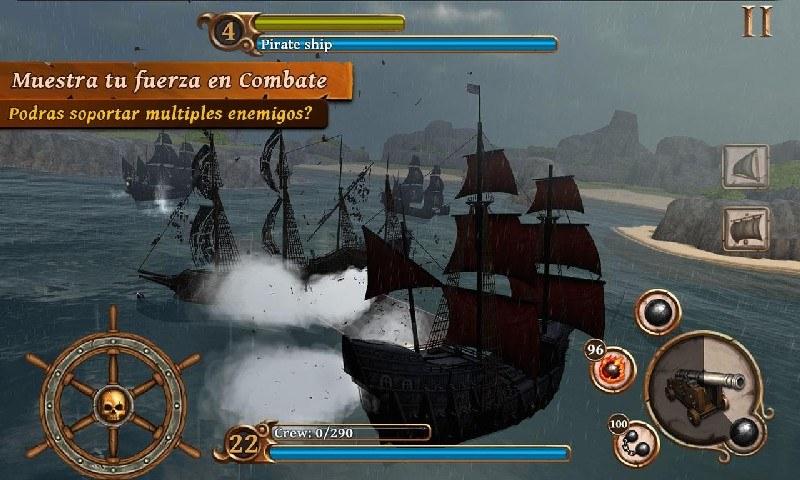 Ships of Battle Age of Pirates APK MOD imagen 4