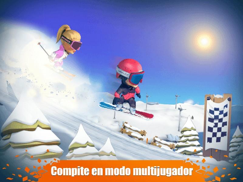 Snow Trial APK MOD imagen 3