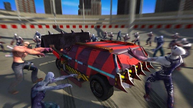 Zombie Smash Road Kill APK MOD imagen 1