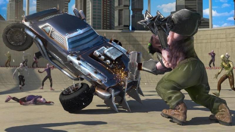 Zombie Smash Road Kill APK MOD imagen 3