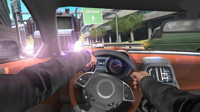 Car In Traffic 2018 APK MOD imagen 5