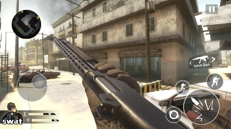 Critical Strike Shoot Fire V2 APK MOD imagen 4
