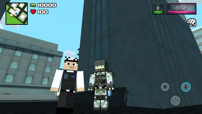 Diverse Block Survival Game APK MOD imagen 3