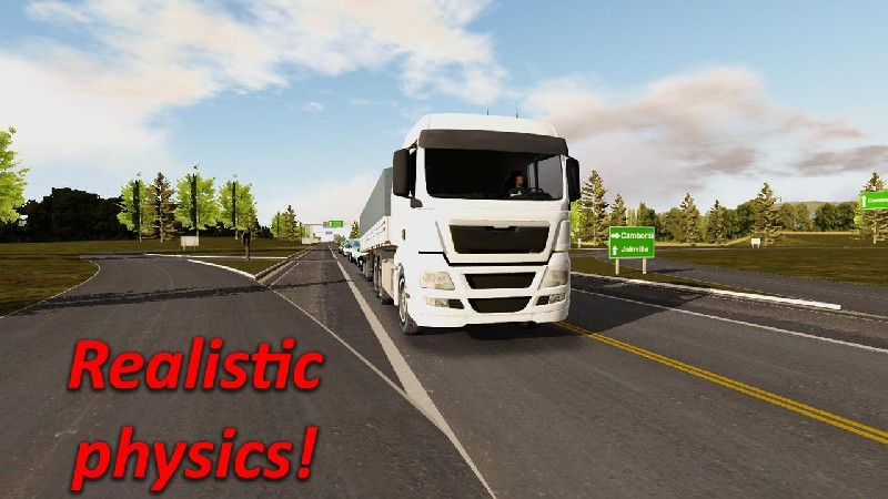 Heavy Truck Simulator APK MOD imagen 1