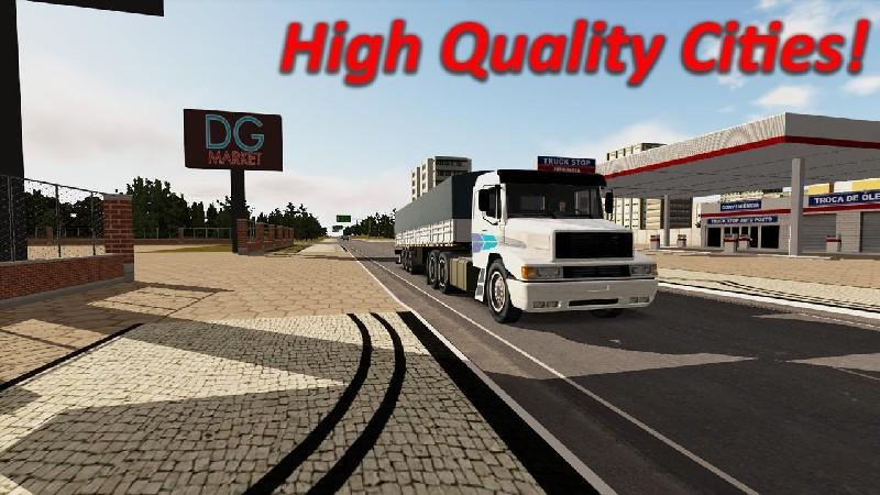 Heavy Truck Simulator APK MOD imagen 2
