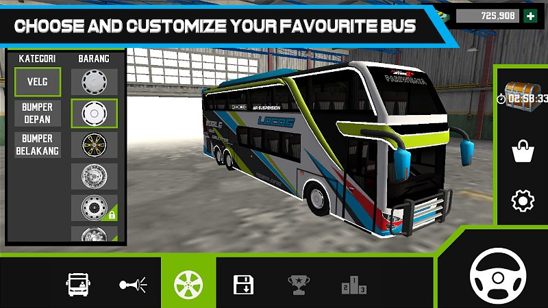 Mobile Bus Simulator APK MOD imagen 1