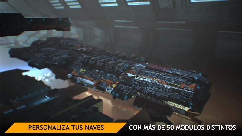 Planet Commander Online Spaceship Galaxy Battles APK MOD imagen 2