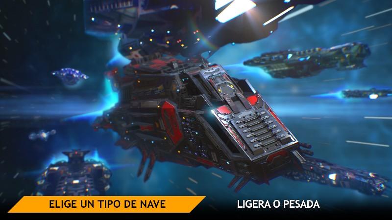 Planet Commander Online Spaceship Galaxy Battles APK MOD imagen 4