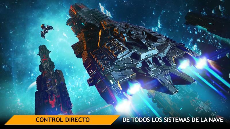 Planet Commander Online Spaceship Galaxy Battles APK MOD imagen 5