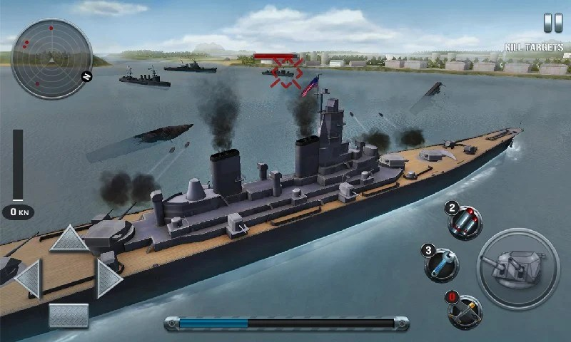 Ships of Battle The Pacific APK MOD imagen 1