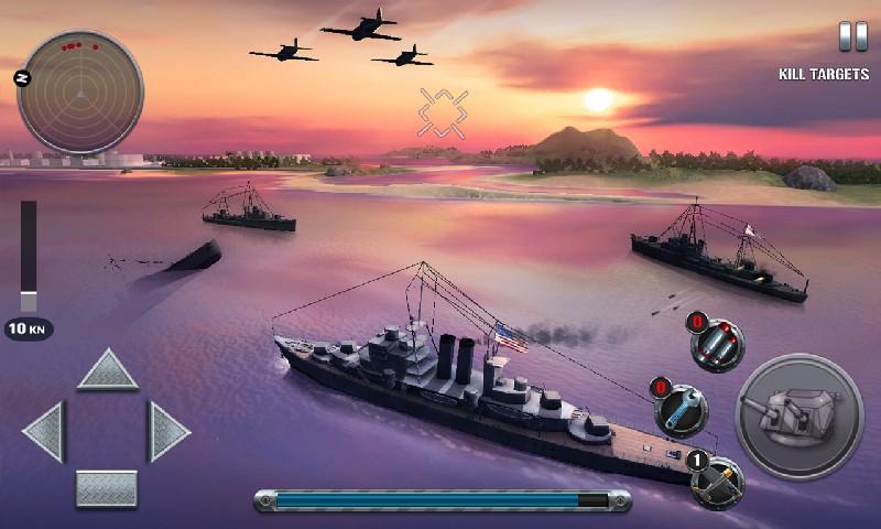 Ships of Battle The Pacific APK MOD imagen 3