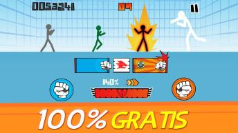 Stickman fighter Epic battle APK MOD imagen 1