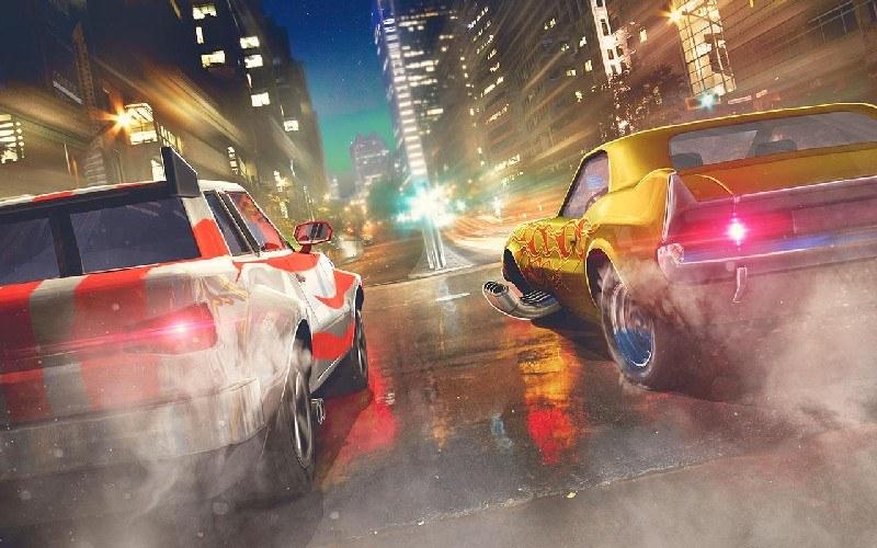 Top Speed Drag & Fast Street Racing 3D APK MOD imagen 2