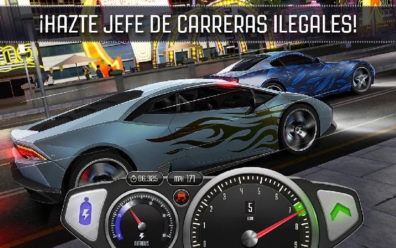 Top Speed Drag & Fast Street Racing 3D APK MOD imagen 4