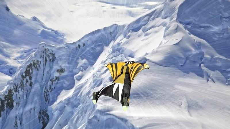 Wingsuit Simulator 3D APK MOD imagen 2