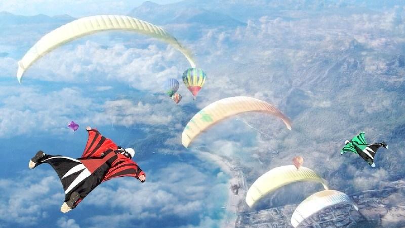 Wingsuit Simulator 3D APK MOD imagen 4