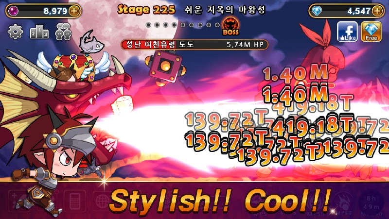 Devil Twins Idle Clicker RPG APK MOD imagen 3