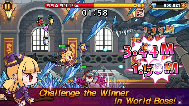 Devil Twins Idle Clicker RPG APK MOD imagen 4