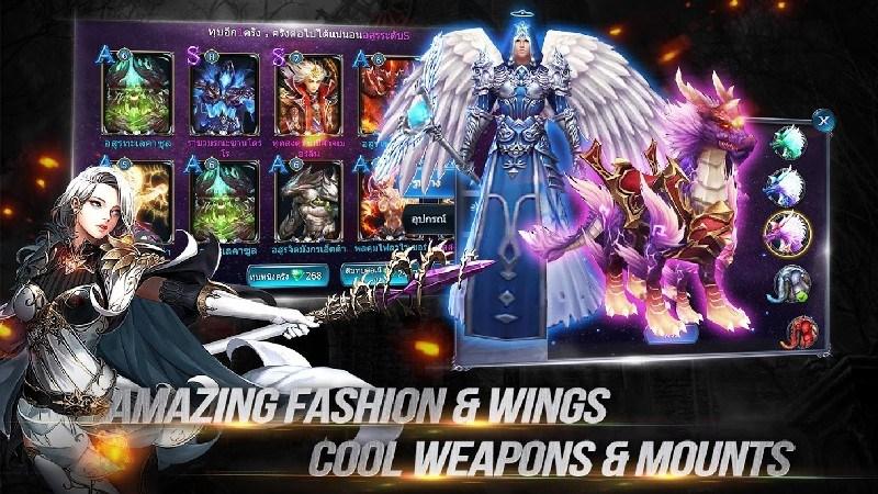 Goddess Primal Chaos - SEA Free 3D Action MMORPG APK MOD imagen 4