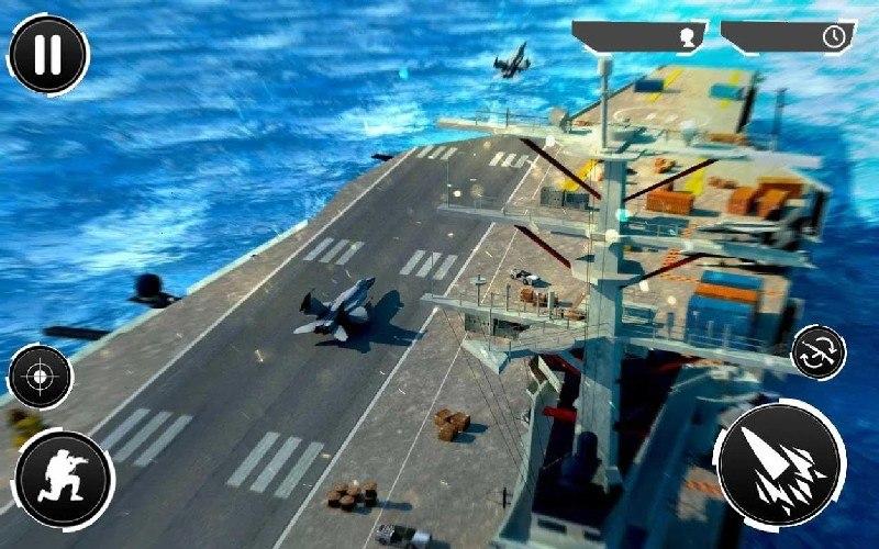Navy Gunner Shoot War 3D APK MOD imagen 3