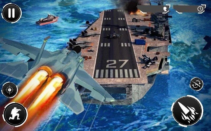 Navy Gunner Shoot War 3D APK MOD imagen 4