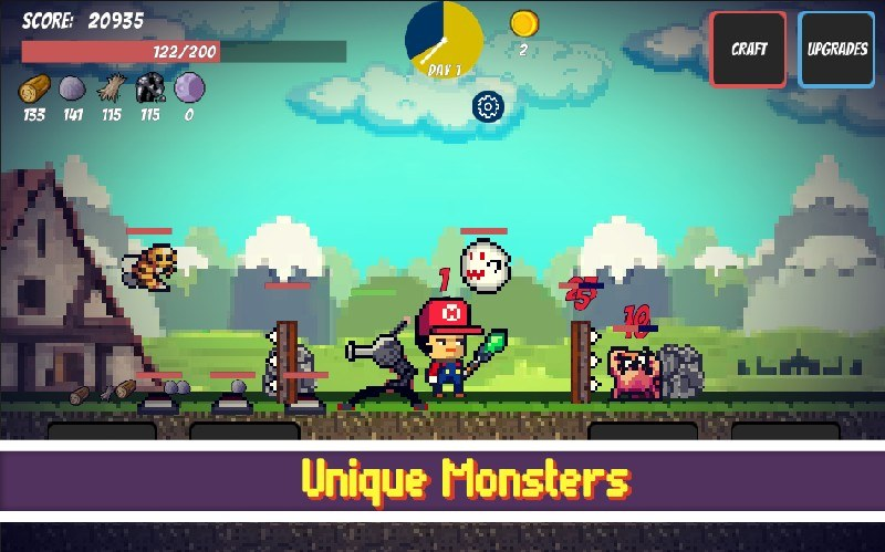 Pixel Survival Game APK MOD imagen 3