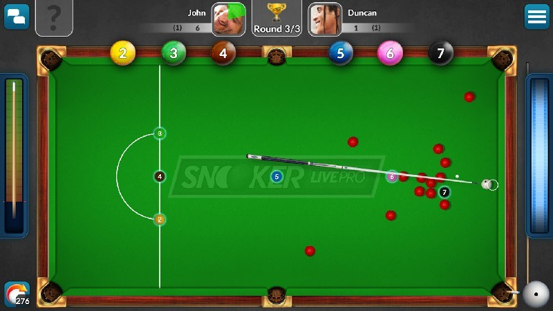Snooker Live Pro & Six-red APK MOD imagen 3