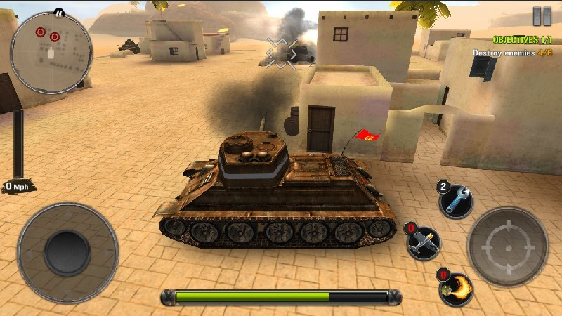Tanks of Battle World War 2 APK MOD imagen 5