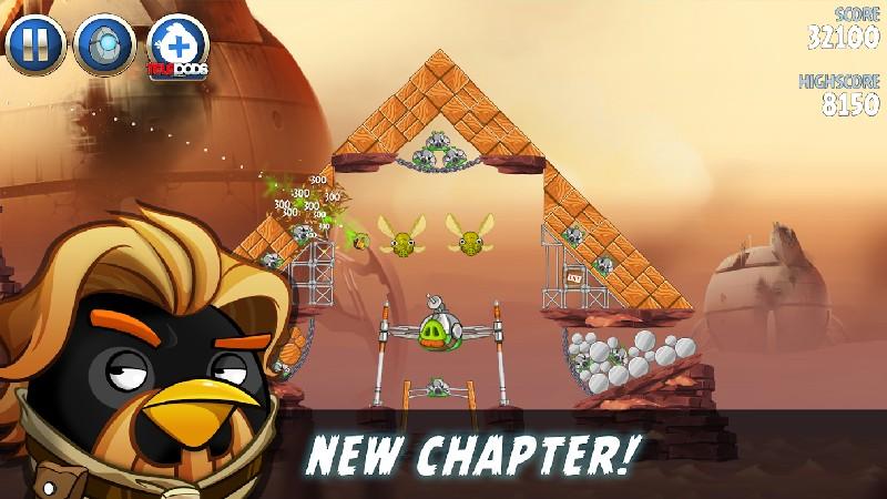 Angry Birds Star Wars II Free APK MOD imagen 5