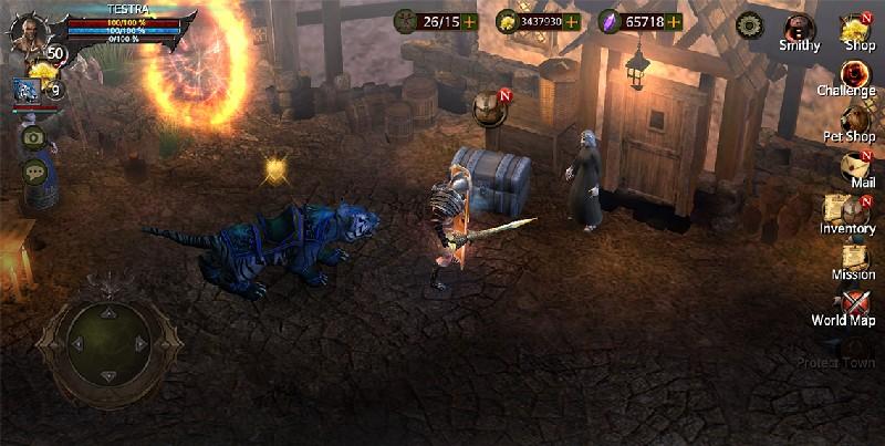 BloodWarrior APK MOD imagen 1