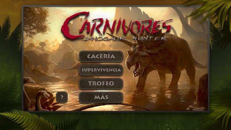 Carnivores Dinosaur Hunter HD APK MOD imagen 1