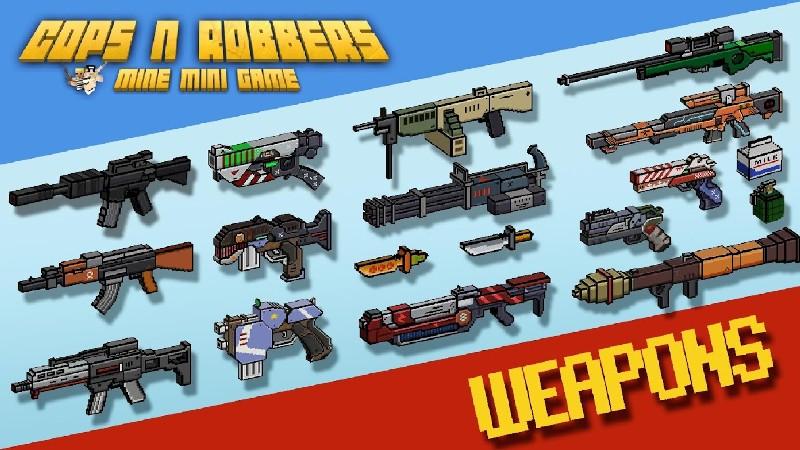 Cops N Robbers - FPS Mini Game APK MOD imagen 3