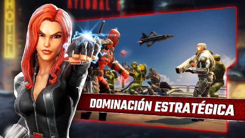 Marvel Strike Force APK MOD imagen 3
