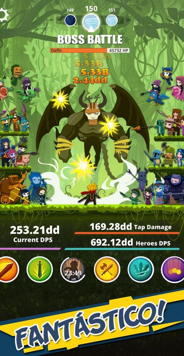 Tap Titans APK MOD imagen 2
