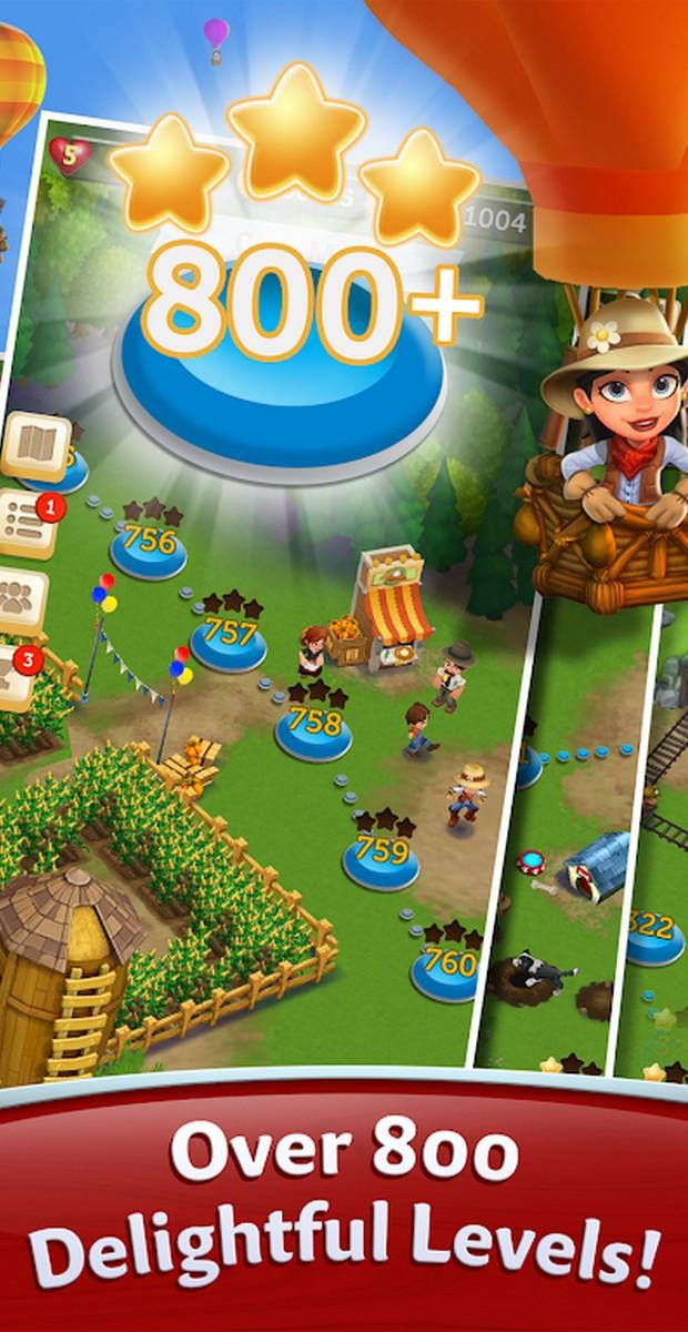 FarmVille Harvest Swap APK MOD imagen 2