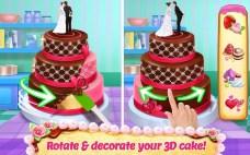 Real Cake Maker 3D - Bake, Design & Decorate APK MOD imagen 1
