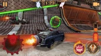 Rocket Car Ball APK MOD imagen 1