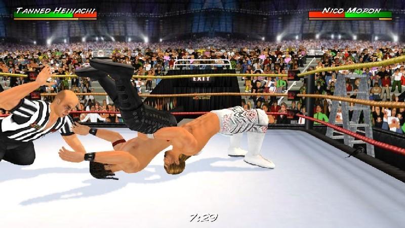 Wrestling Revolution 3D APK MOD imagen 2