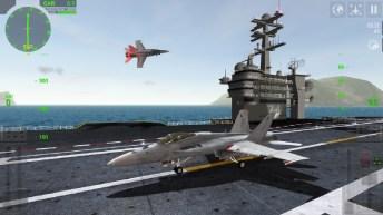 F18 Carrier Landing Lite APK MOD imagen 1