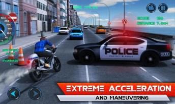 Moto Traffic Race APK MOD imagen 1