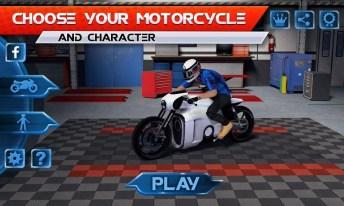 Moto Traffic Race APK MOD imagen 3