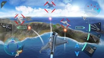 Sky Fighters 3D APK MOD imagen 3