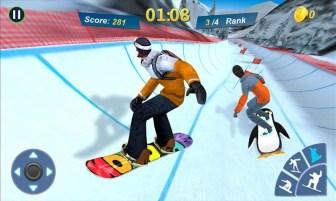 Snowboard Master 3D APK MOD imagen 1
