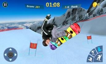 Snowboard Master 3D APK MOD imagen 2