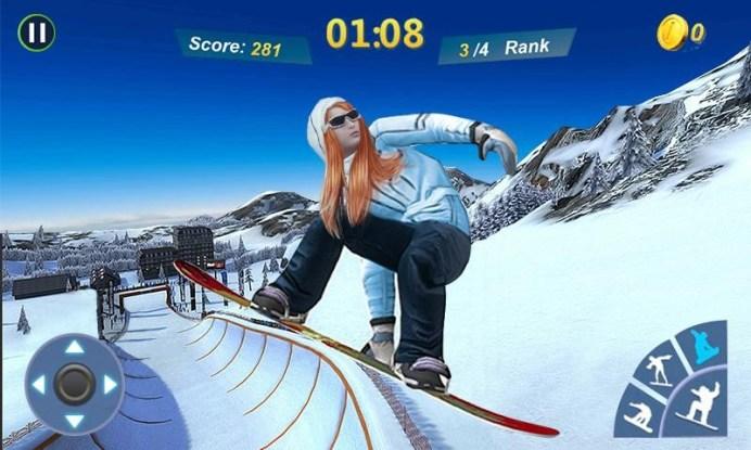Snowboard Master 3D APK MOD imagen 5