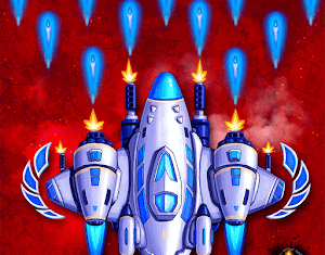 Space X Sky Wars of Air Force APK MOD