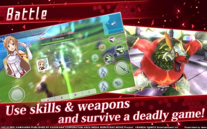Sword Art Online Integral Factor APK MOD imagen 2