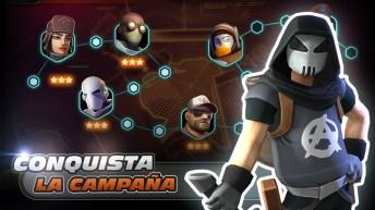 Alpha Squad 5 RPG & PvP Online Battle Arena APK MOD imagen 4