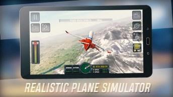 Flight Sim 2018 APK MOD imagen 2