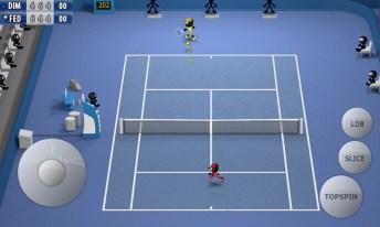 Stickman Tennis - Career APK MOD imagen 2